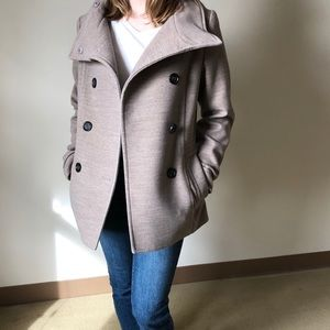 H&M Tan pea coat
